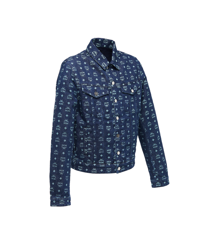 MCM Men's Denim Jacket in Visetos Alternate View 2