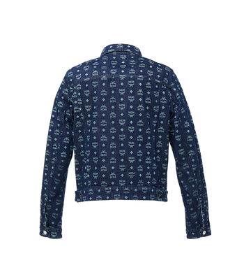 MCM Men's Denim Jacket in Visetos Alternate View 3