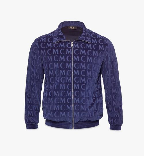 Men's Monogram Velour Track Jacket