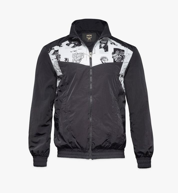 MCM Men's Wunderkammer Track Jacket in Nylon Alternate View
