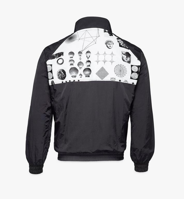 MCM Men's Wunderkammer Track Jacket in Nylon Black MHJAAMM01BK00S Alternate View 2
