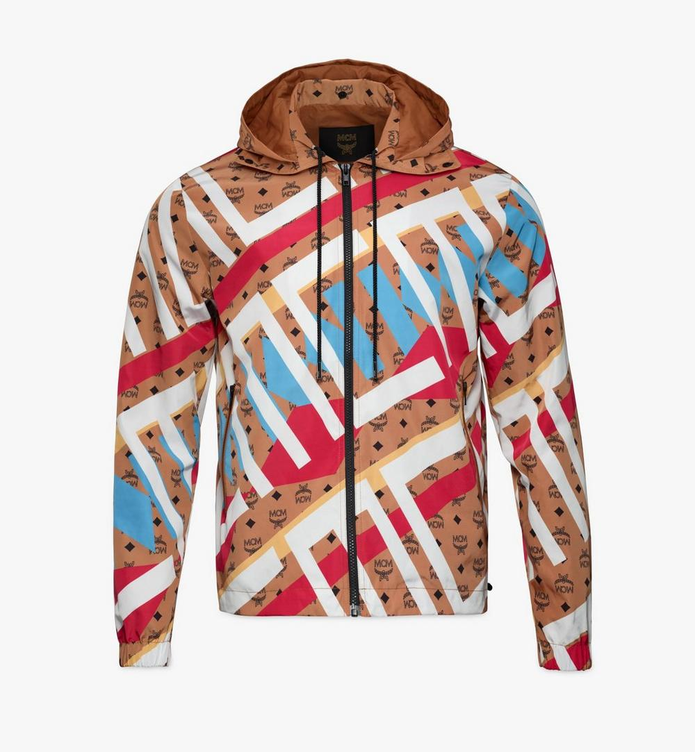 Windbreaker in Geo Graffiti Nylon 1