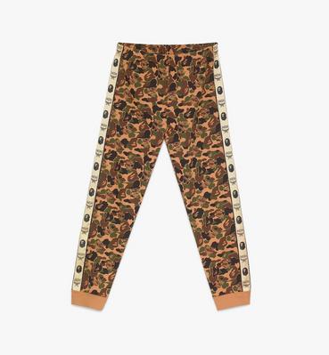 กางเกงแทร็กขายาวผู้ชาย MCM x BAPE