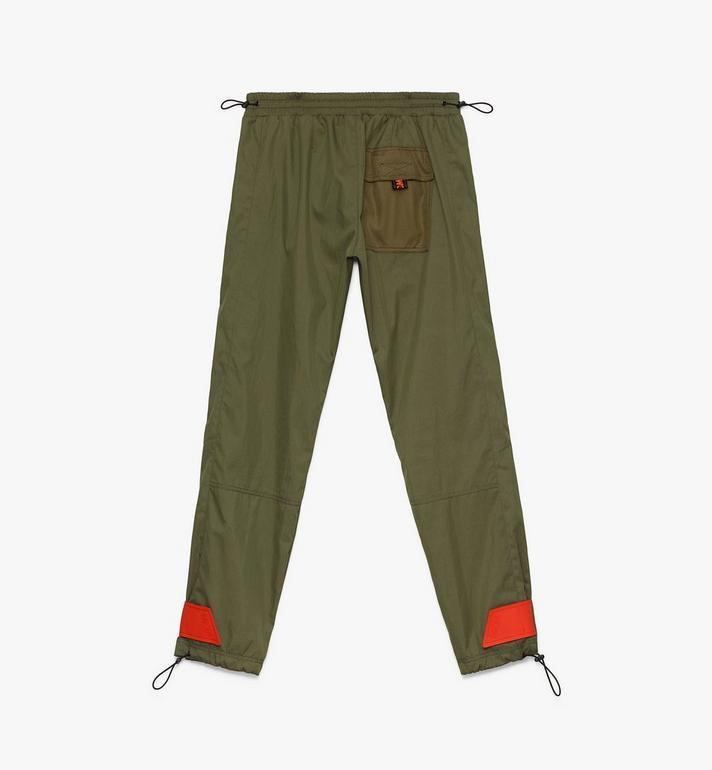 MCM Men's Resnick Utility Pants Green MHP9ARA43G8046 Alternate View 2