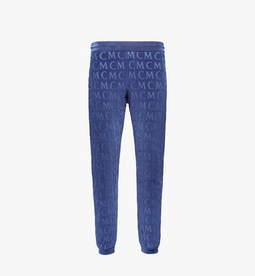 Men's Monogram Velour Track Pants