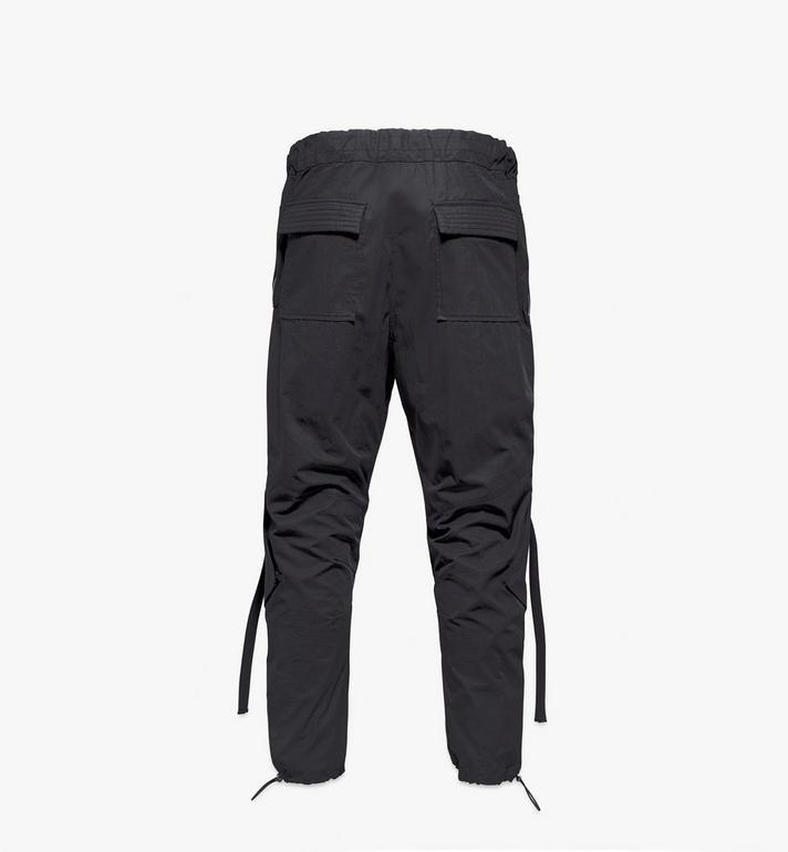 MCM Men's Utility Cargo Pants Black MHPAAMM01BK048 Alternate View 2