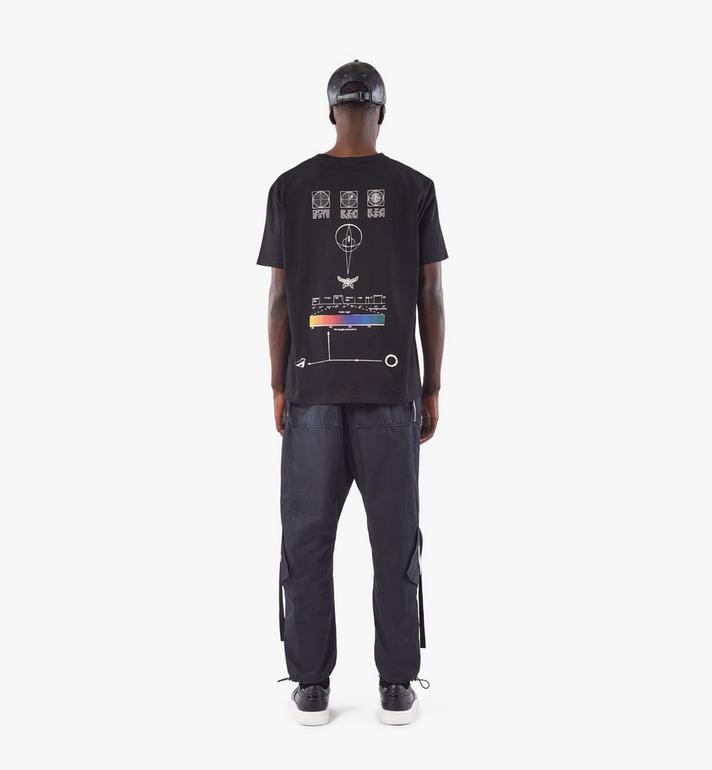 MCM Men's Utility Cargo Pants Black MHPAAMM01BK048 Alternate View 5