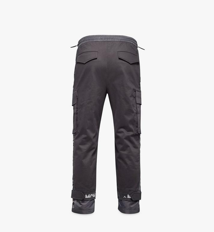 MCM Men's Utility Cargo Pants Black MHPAAMM06BK052 Alternate View 2