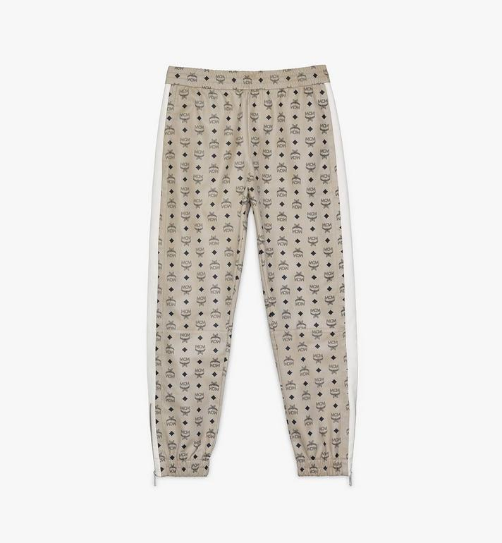 MCM Men's Track Pants in Visetos Alternate View