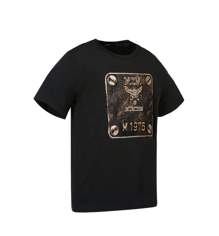 MCM Men's Brass Plate T-Shirt Alternate View 2