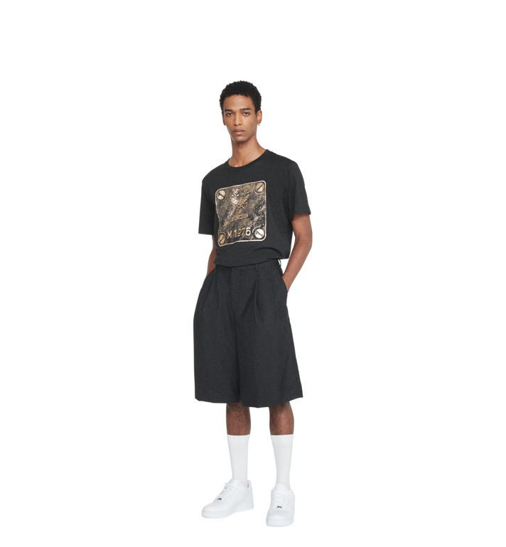 MCM Men's Brass Plate T-Shirt Alternate View 4