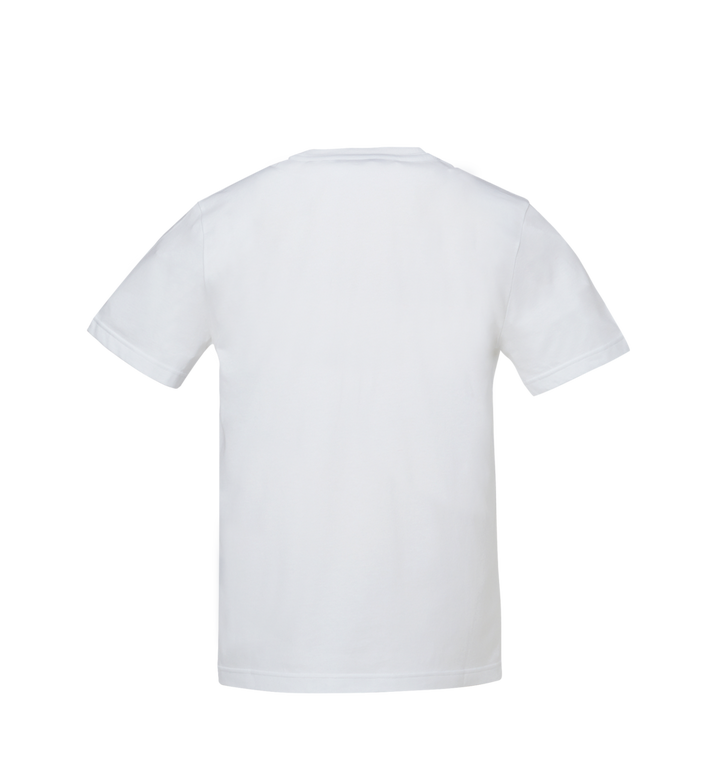 MCM Herren T-Shirt mit Messingplakette Alternate View 3