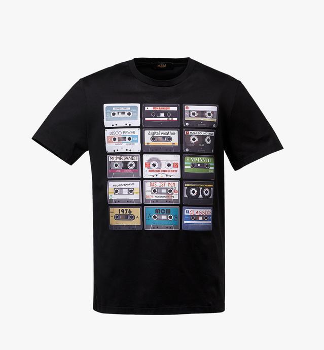 T-shirt cassettes pour homme