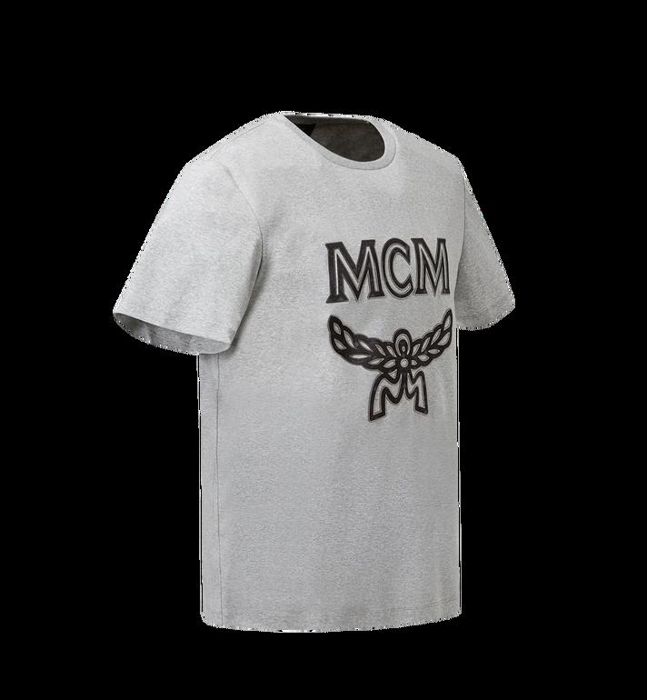 MCM Men's Logo T-Shirt Grey MHT8SMM10EG00S Alternate View 2