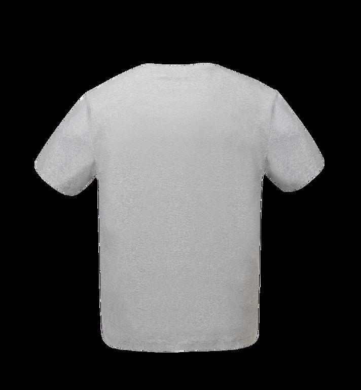 MCM Men's Logo T-Shirt Grey MHT8SMM10EG00S Alternate View 3