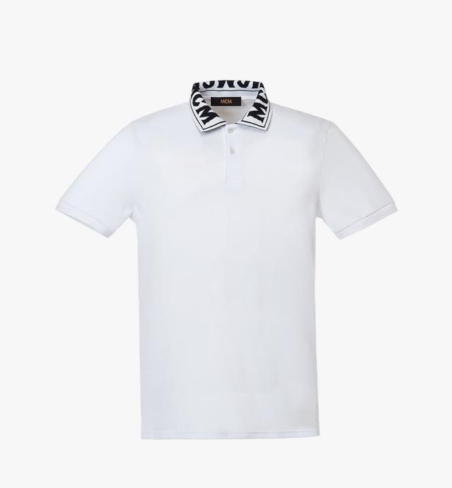 男士徽标 Polo 衫