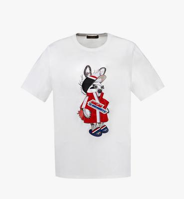 남성용 펑크 버니 티셔츠