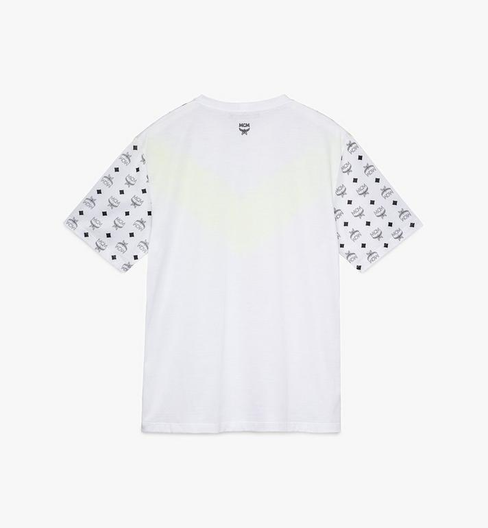 MCM Men's Flo T-Shirt White MHT9ALC06WT0XL Alternate View 2