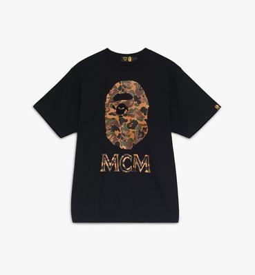 เสื้อยืด Collab คอลเลคชั่น MCM x BAPE