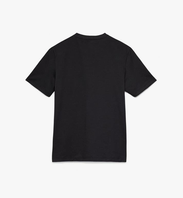 MCM Men's Logo T-Shirt Black MHT9AMM01BK00L Alternate View 2