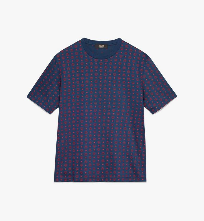 MCM Men's Visetos Print T-Shirt Alternate View
