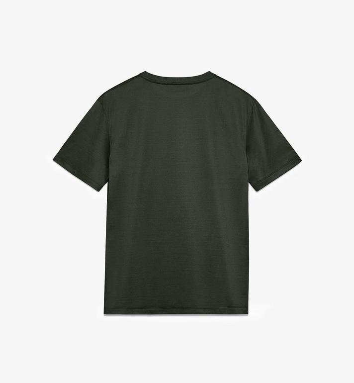 MCM Men's Logo T-Shirt Green MHT9AMM80G800L Alternate View 2