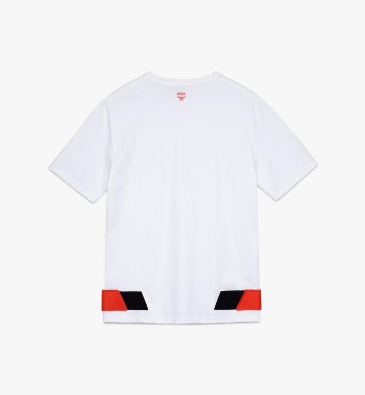 MCM Men's Resnick Velcro T-Shirt  MHT9ARA27WT0XL Alternate View 2