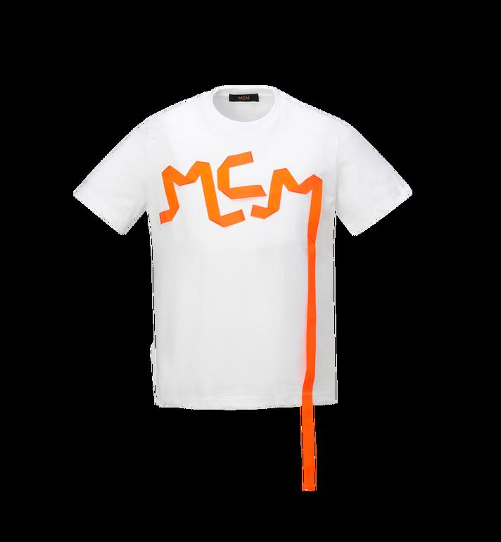 MCM Men's Logo Tape Print T-Shirt Alternate View