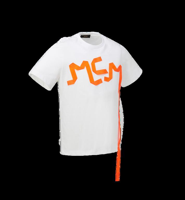 MCM Men's Logo Tape Print T-Shirt Alternate View 2