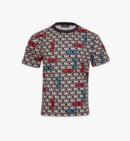 เสื้อยืดลายโมโนแกรมสำหรับผู้ชาย