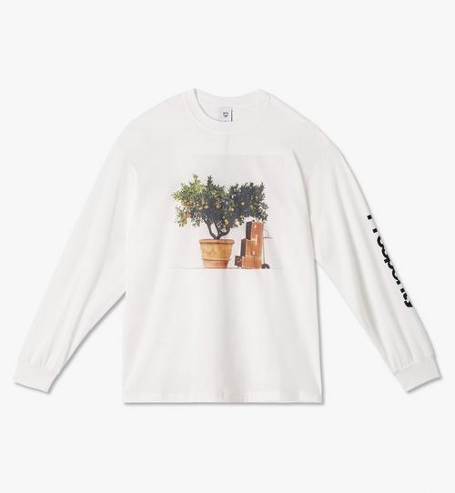 T-shirt à manches longues MCM x PHENOMENON Prosperity pour homme