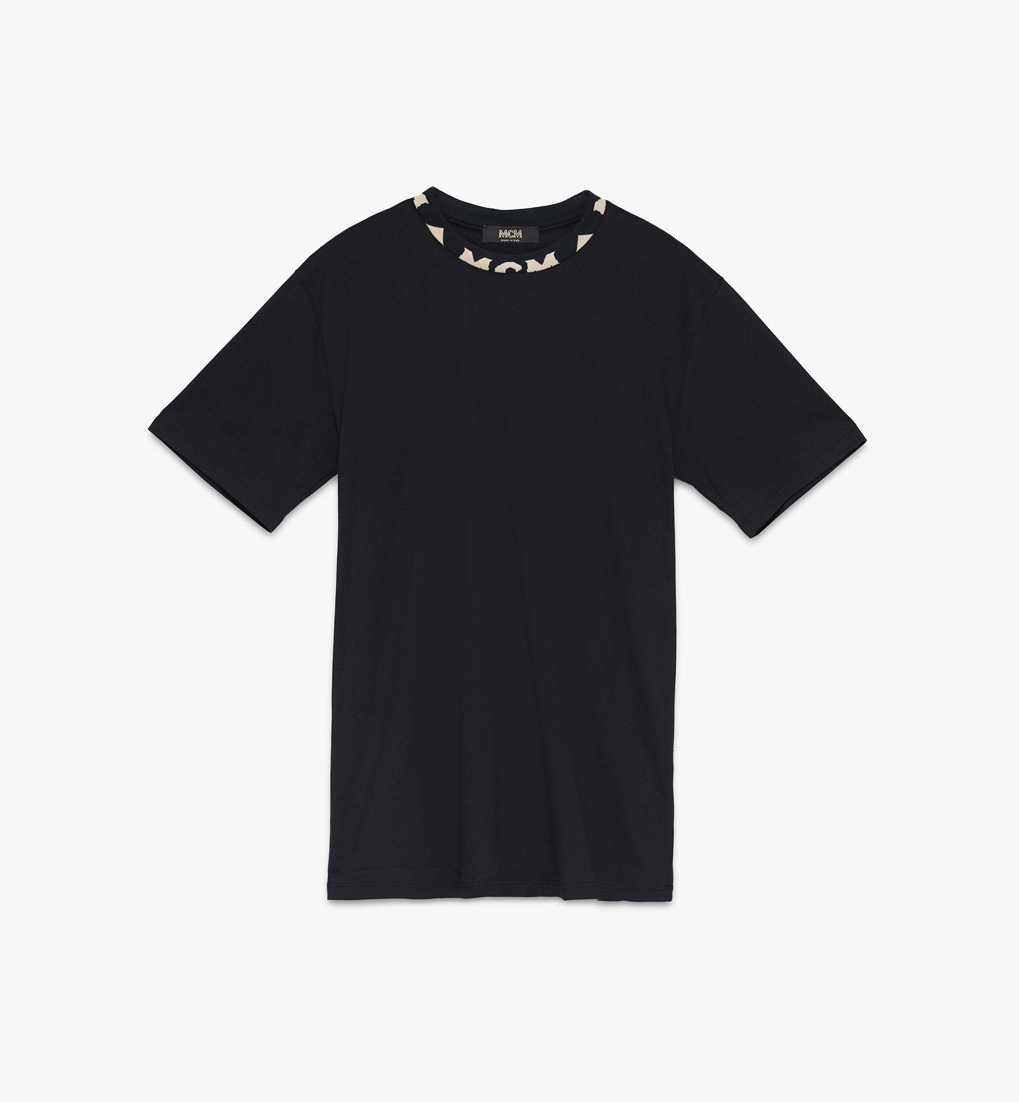 MCM 男士標誌飾邊T恤 Black MHTASMM03BT00S Alternate View 1