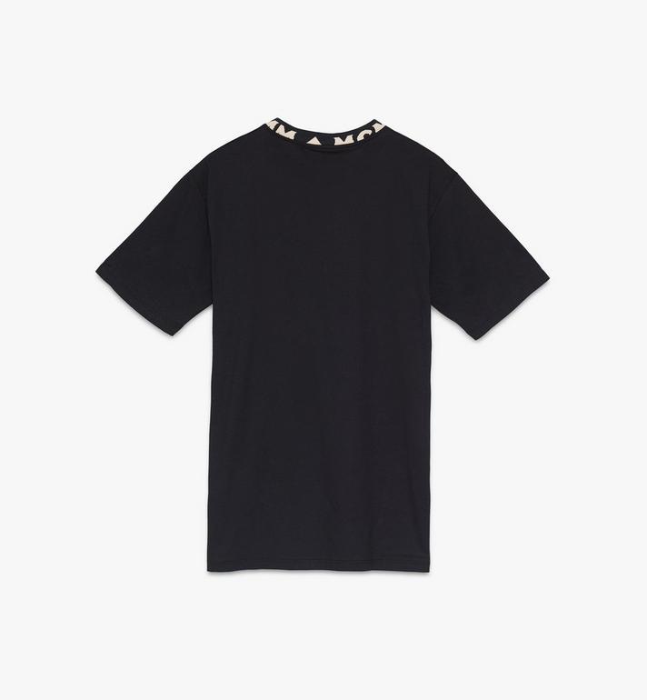 MCM 男士標誌飾邊T恤 Black MHTASMM03BT00S Alternate View 2