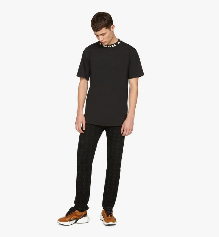MCM 男士標誌飾邊T恤 Black MHTASMM03BT00S Alternate View 3