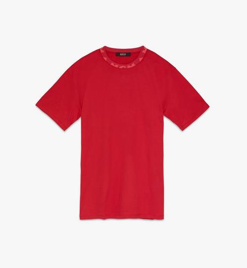 T-shirt à bordure logo pour homme
