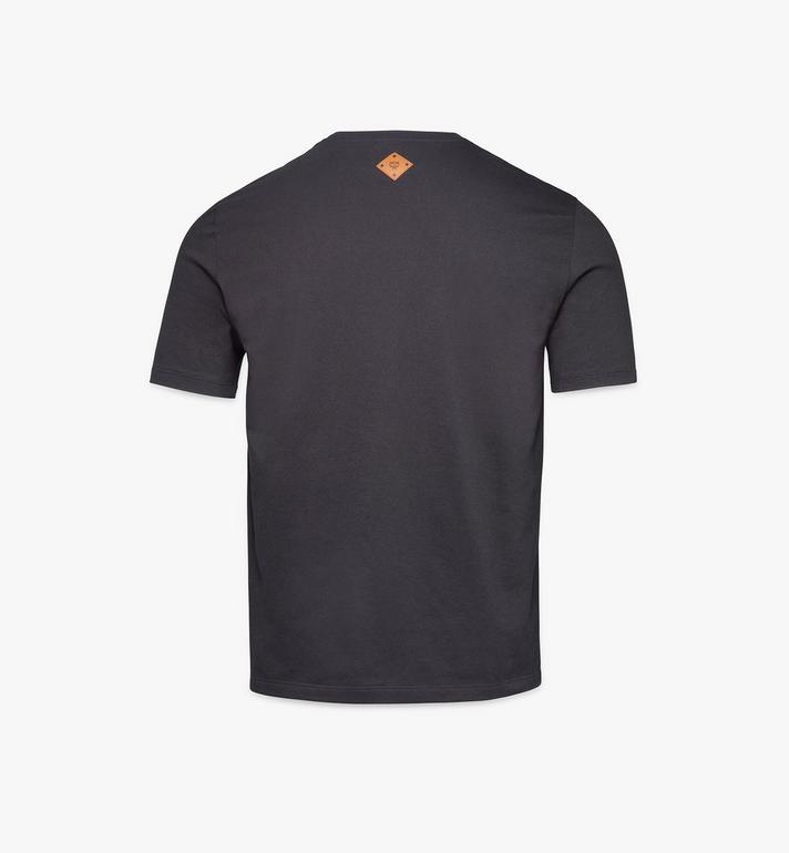 MCM 男士經典款 logo T 恤 Black MHTASMM04BK00L Alternate View 2