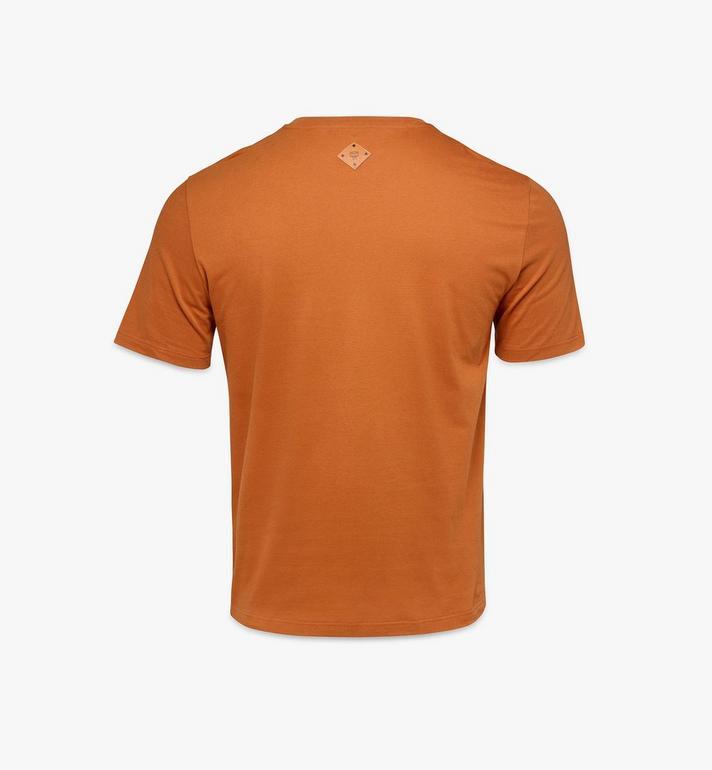 MCM Men's Classic Logo T-Shirt Brown MHTASMM04N400M Alternate View 2