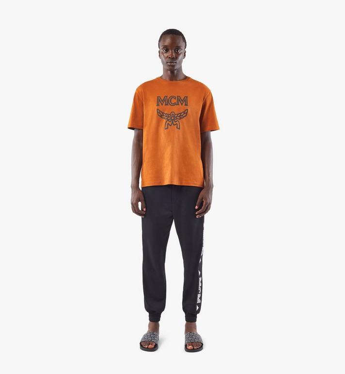 MCM Men's Classic Logo T-Shirt Brown MHTASMM04N400M Alternate View 3