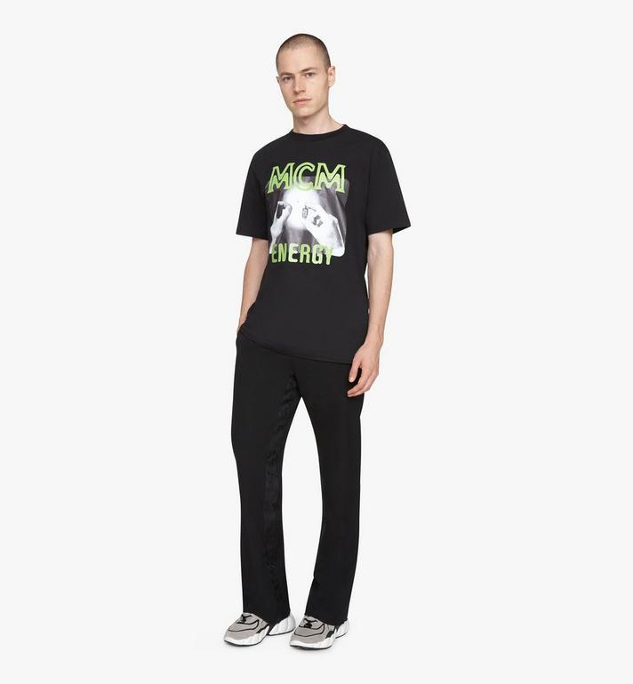 MCM T-shirt 1976 Energy pour homme Black MHTASMV02BT00L Alternate View 3