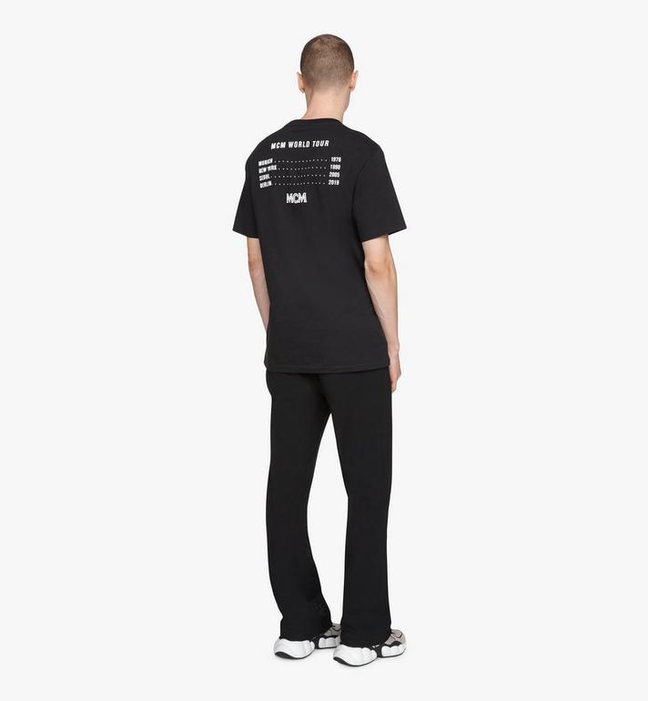 MCM Men's 1976 Energy T-Shirt Black MHTASMV02BT00L Alternate View 4