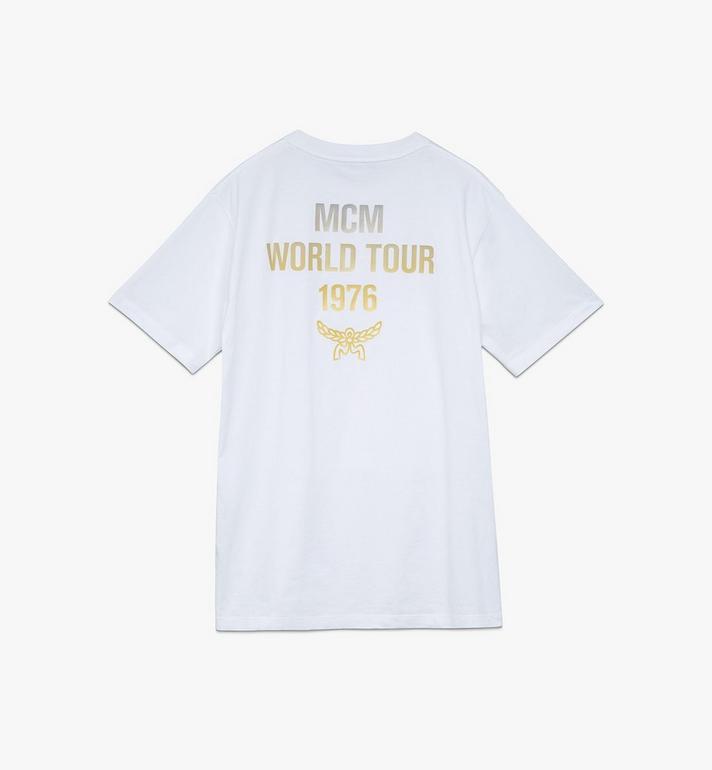 MCM Men's 1976 Power Trip T-Shirt White MHTASMV02WT00M Alternate View 2