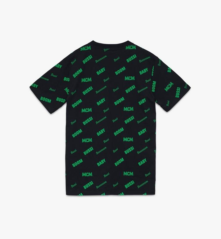 MCM 1976 T-Shirt mit Wortspiel für Herren Black MHTASMV03BT00L Alternate View 2