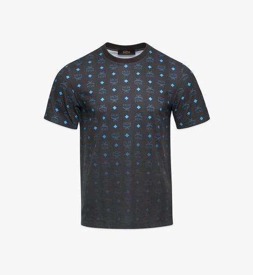 เสื้อยืดพิมพ์ลาย Visetos ไล่ระดับสีสำหรับผู้ชาย