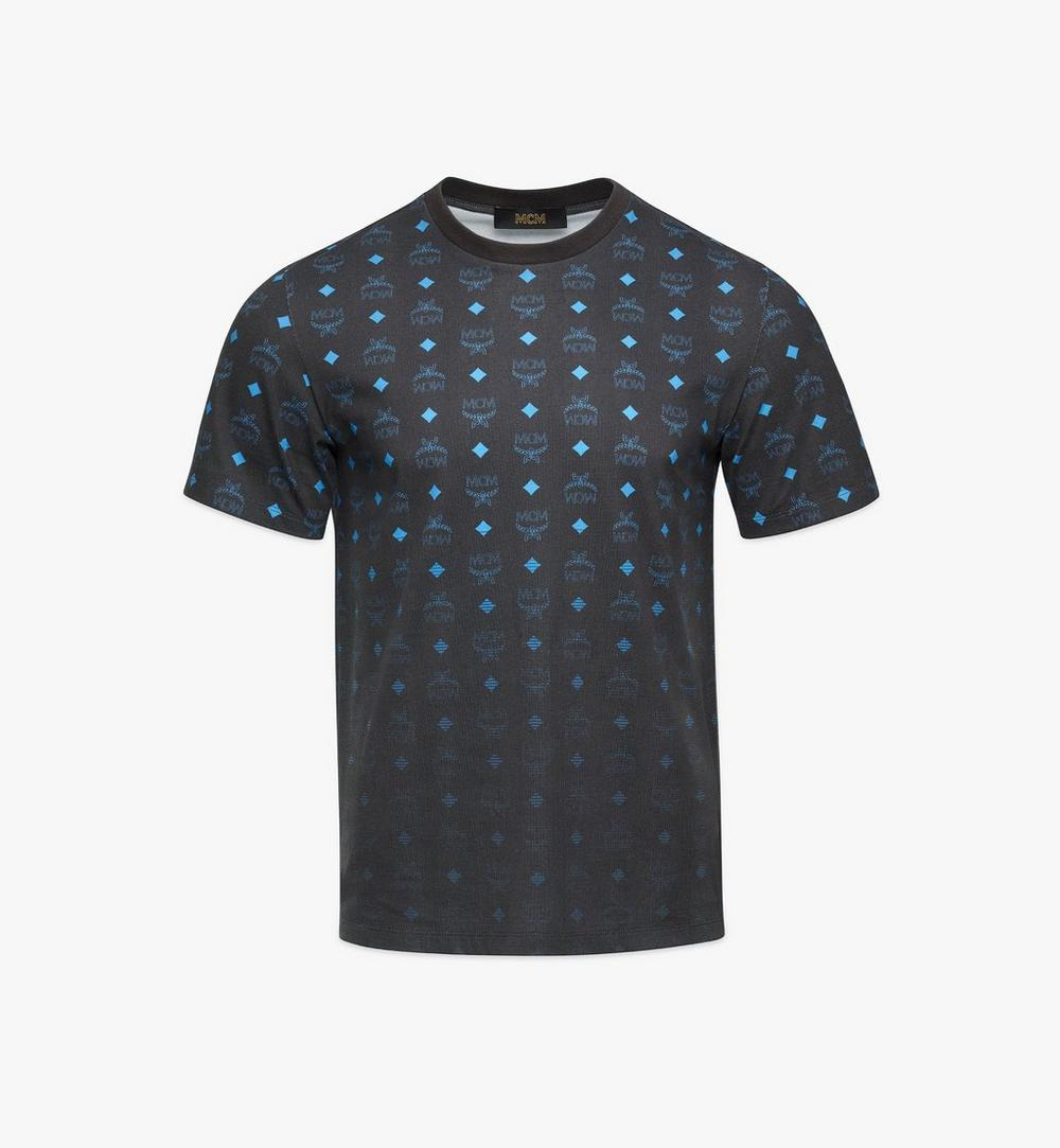 Men's Gradient Visetos Print T-Shirt 1