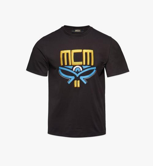 T-Shirt mit geometrischem Lorbeerkranz für Herren
