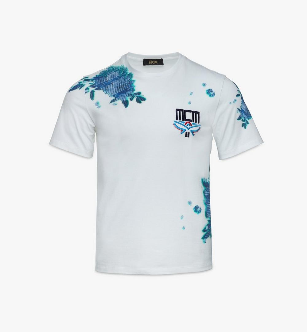 Men's Tech Flower Print T-Shirt 1