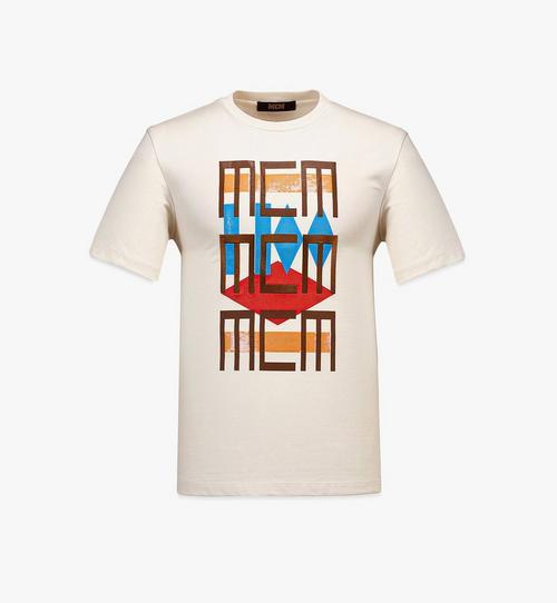 เสื้อยืดลาย Geo Graffiti สำหรับผู้ชาย