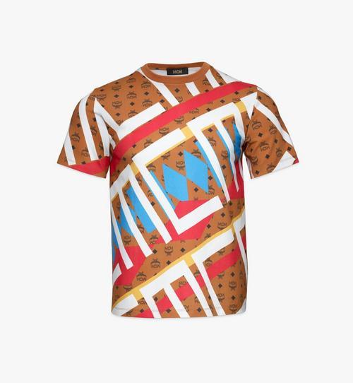 เสื้อยืดพิมพ์ลาย Geo Visetos สำหรับผู้ชาย
