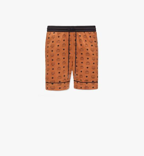 กางเกงบ็อกเซอร์ขาสั้นทำจากผ้าไหมพิมพ์ลายสำหรับผู้ชาย