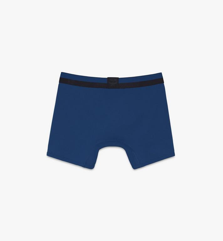 MCM Men's 1976 Long Boxer Briefs Blue MHYASBM01LU2XL Alternate View 2